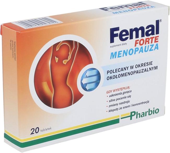 femal 20 tabletek